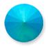 Custom Pastel Effect on Swarovski 1122 Emerald