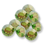 1088 Swarovski XIRIUS Round Stone Fern Green (291) Champagne*