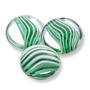 202 German-made Glass Cabochon Mint Swirl