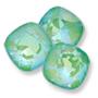 4470 Swarovski Fancy Stone Ultra AB Emerald Custom Effect*