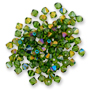 5328 Swarovski XILION Bead Fern Green (291) Brandy*