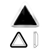Swarovski 2711/I Rimmed Triangle Flat Back   title=