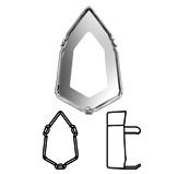 Swarovski 4707/S Slim Trilliant Fancy Stone Setting   title=