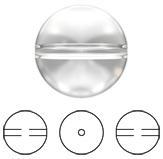 Swarovski 5028/4 Crystal Globe Bead