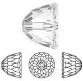 Swarovski 5542 Dome Bead small