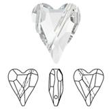 Swarovski 5743 Wild Heart Bead