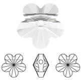 Swarovski 5744 Flower Bead