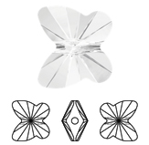 Swarovski 5754 Butterfly Bead
