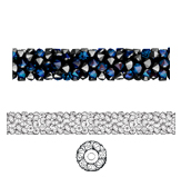 Swarovski 5950 Fine Rocks Tube Bead