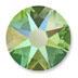 Swarovski Peridot Shimmer Effect