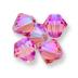 Swarovski Rose Shimmer 2x on 5328