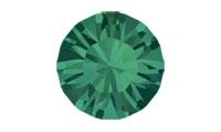 Swarovski 1028 XILION Chaton Emerald