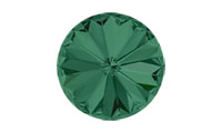 Swarovski 1122 Rivoli Chaton Emerald