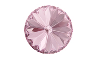 NEW! Swarovski 1122 Rivoli Chaton Light Rose