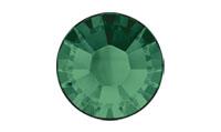 Swarovski 2038 XILION Rose Hotfix Emerald