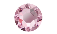 NEW! Swarovski 2078 XIRIUS Rose Hotfix Light Rose
