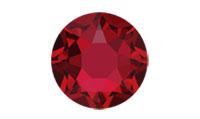 Swarovski 2078 XIRIUS Rose Hotfix Scarlet