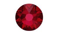 Swarovski 2088 XIRIUS Rose Flat Back Scarlet