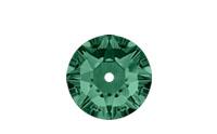 Swarovski 3188 XIRIUS Lochrose Emerald
