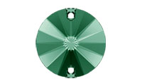 Swarovski 3200 Rivoli Sew-on Stone Emerald