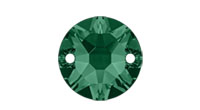 Swarovski 3288 XIRIUS Sew-on Stone Emerald