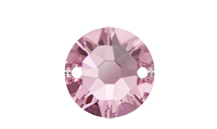 NEW! Swarovski 3288 XIRIUS Sew-on Stone Light Rose