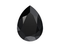 Swarovski 4320 Pear Fancy Stone Jet