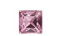 NEW! Swarovski 4428 XILION Square Fancy Stone Light Rose