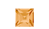 Swarovski 4428 XILION Square Fancy Stone Light Colorado Topaz