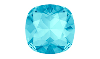 Swarovski 4470 Square Antique Fancy Stone Aqua