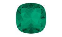 Swarovski 4470 Square Antique Fancy Stone Emerald