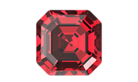 NEW! Swarovski 4480 Imperial Fancy Stone Scarlet