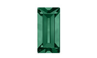 Swarovski 4501 Baguette Fancy Stone Emerald