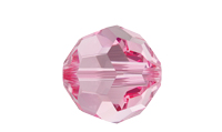 NEW! Swarovski 5000 Round Bead Light Rose