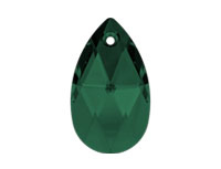 Swarovski 6106 Pear-shaped Pendant Emerald