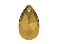 Swarovski 6106 Pear-shaped Pendant Light Colorado Topaz