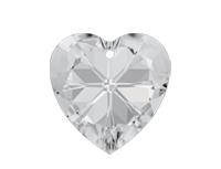 Swarovski 6228 XILION Heart Pendant Crystal