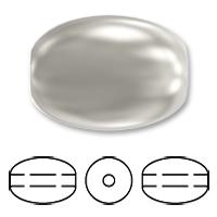 Swarovski 5824 Crystal Rice Pearl