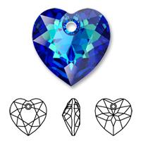 Swarovski 6432 Heart Cut Pendant