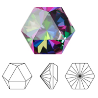 Swarovski 4699 Kaleidoscope Hexagon Fancy Stone