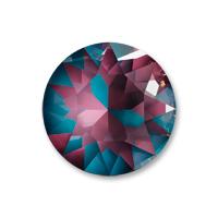 Swarovski Crystal Burgundy LacquerPRO DeLite