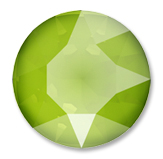 Swarovski Crystal Shiny LacquerPRO Effects Lime (001 L125S)