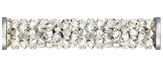 Swarovski 5950 Crystal Moonlight Steel Fine Rocks Tube with ending