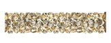 Swarovski 5951 Crystal Golden Shadow Fine Rocks Tube