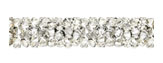Swarovski 5951 Crystal Moonlight Fine Rocks Tube