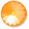 Custom Effect Ultra AB Orange on Swarovski-1122