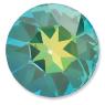 Custom Effect Ultra AB Emerald on Swarovski-1201