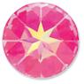 Custom Effect Ultra AB Pink on Swarovski-1201