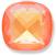Custom Effect Ultra AB Orange on Swarovski-4461