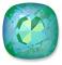 Custom Effect Ultra AB Emerald on Swarovski-4470